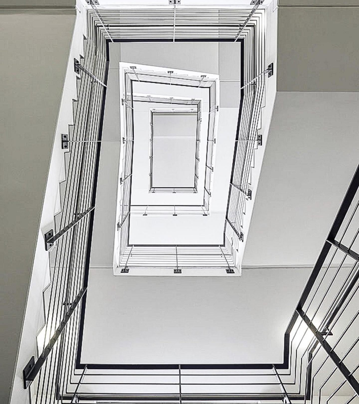 Universität Bamberg - Treppenhaus