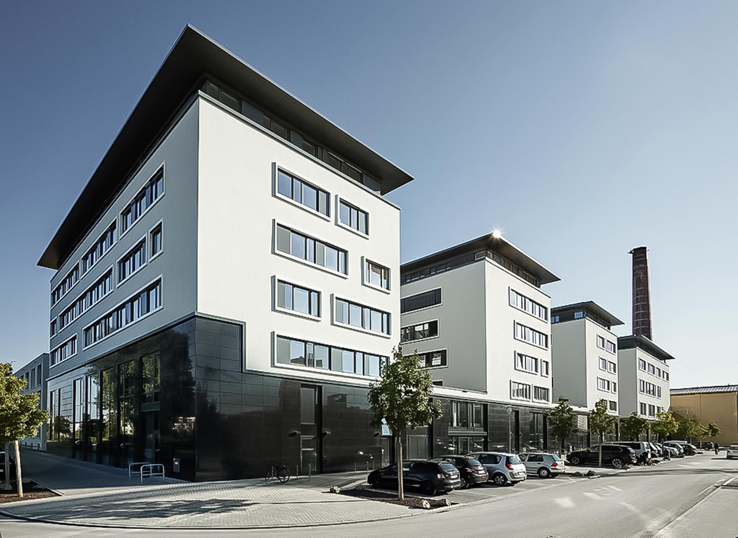 Universität Bamberg - Außenansicht seitlich