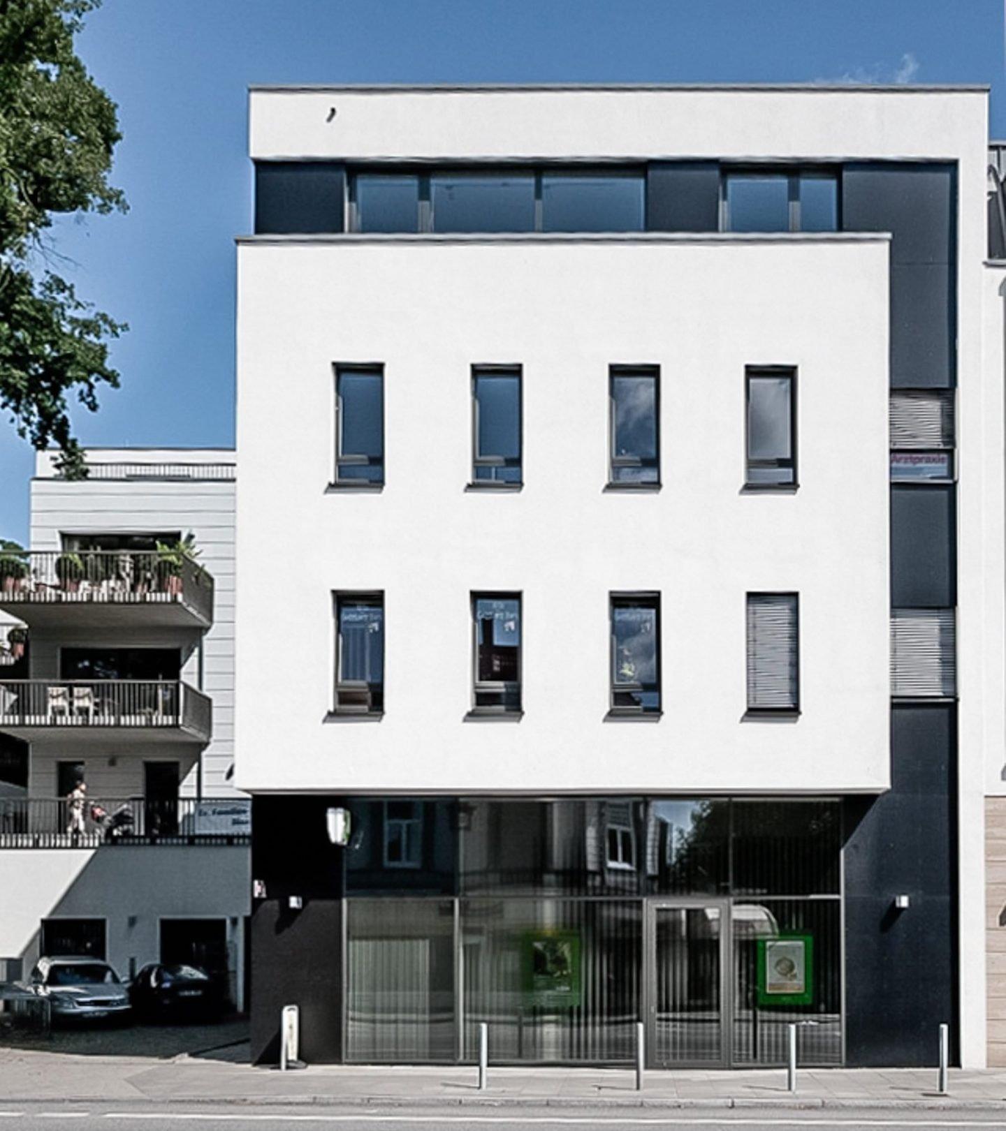 Paribus Premium Portfolio - Fassade der Immobilie Goßlers Park Hamburg