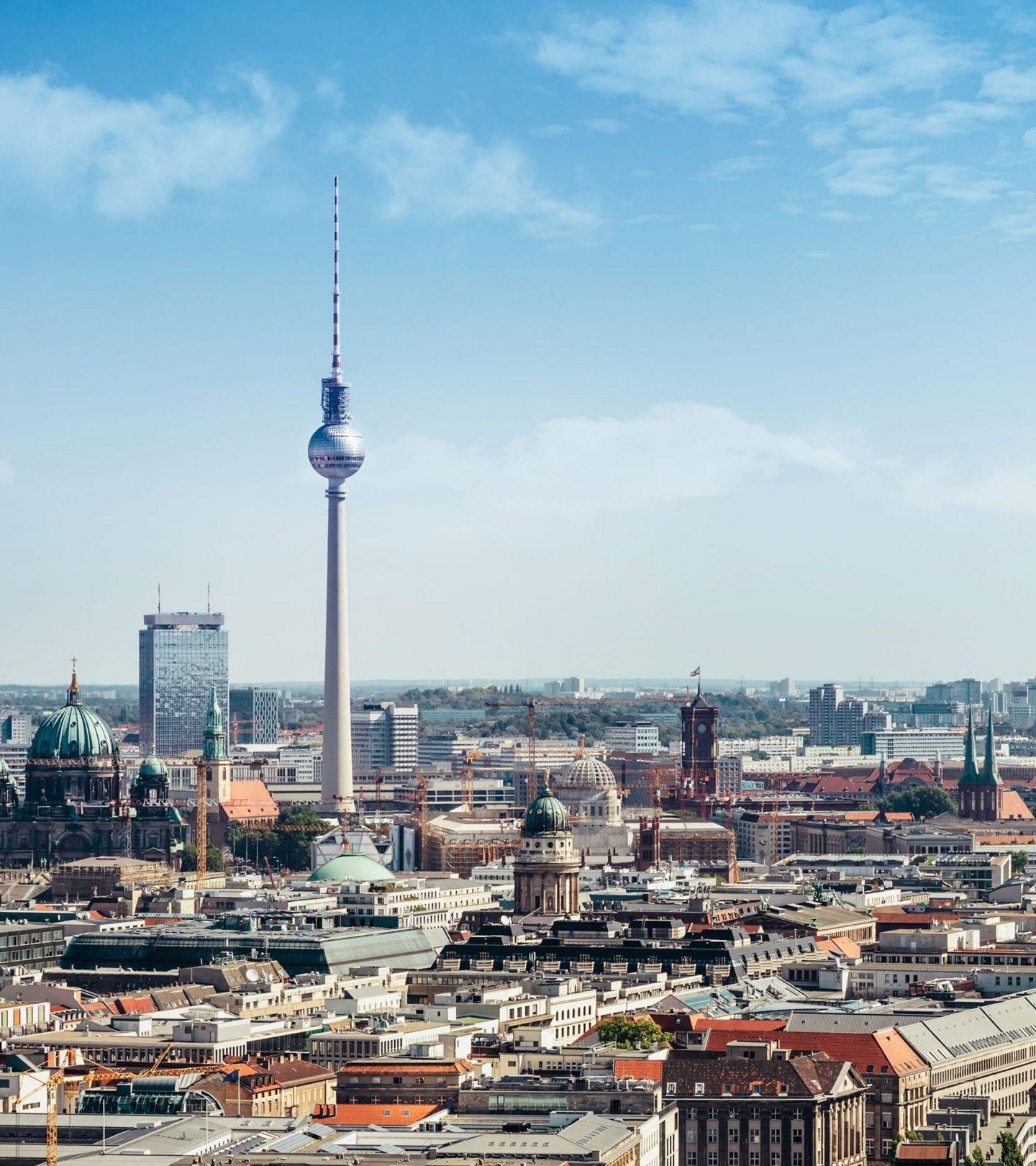 Immobilienmarkt Deutschland - Skyline Berlin