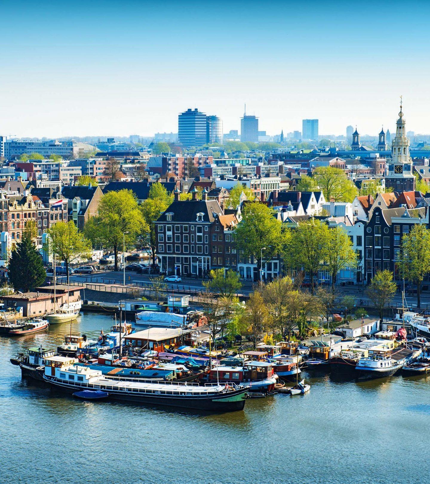 Immobilienmarkt Niederlande - Skyline Amsterdam