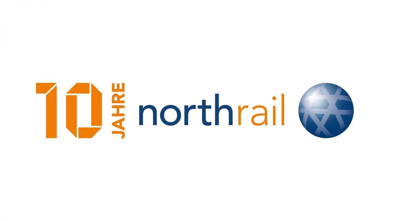 Logo 10 Jahre Northrail
