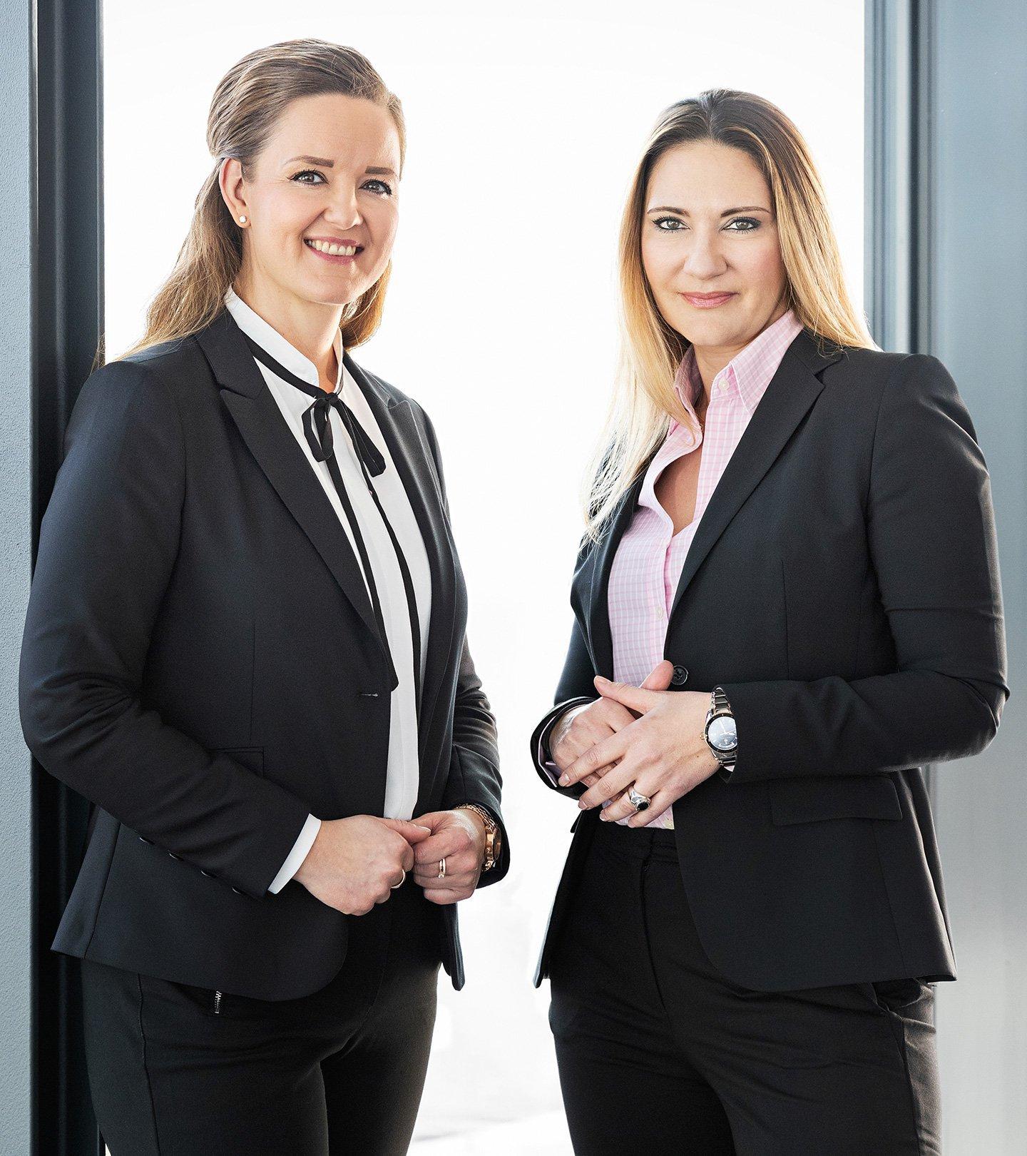 Suzanna Artmann und Stephanie Brumberg, Geschäftsführerinnen der Paribus Treuhand Dienstleistung und Paribus Trust
