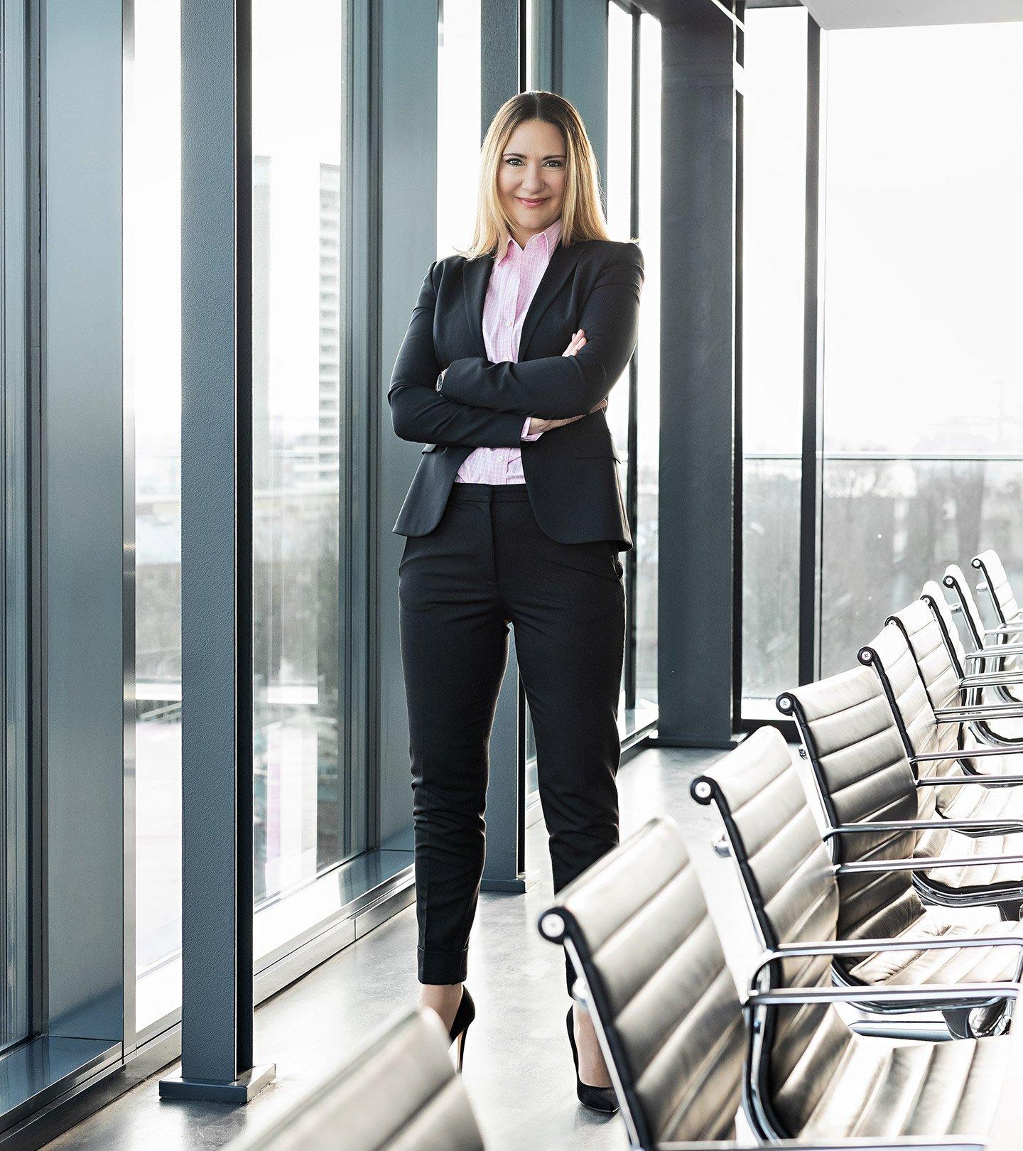 Suzanna Artmann, Geschäftsführerin der Paribus Treuhand Dienstleistung und der Paribus Trust